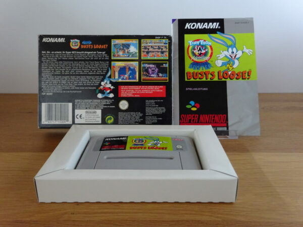 Tiny Toon Adventures: Buster Busts Loose - CIB - SNES