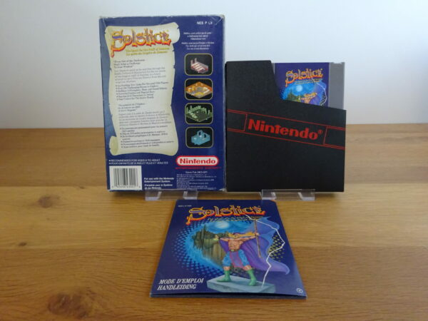 Solstice: Quest for the Staff of Demnos - CIB - NES