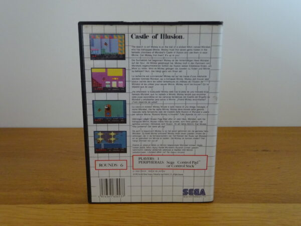 Castle of Illusion Starring Mickey Mouse - CIB - MS