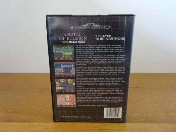 Castle of Illusion Starring Mickey Mouse - CIB - MD