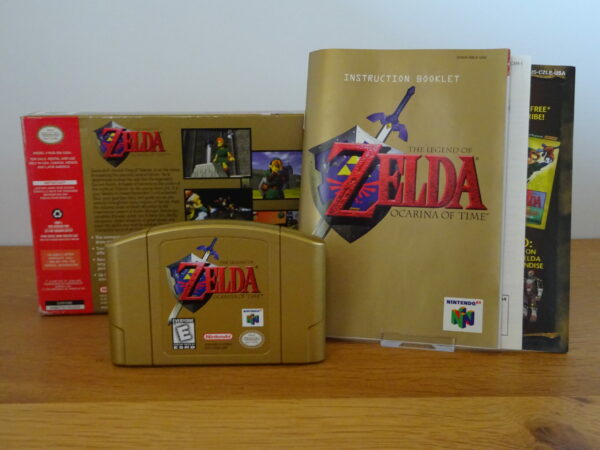 The Legend of Zelda Ocarina of Time Collector's Edition - CIB - N64 USA