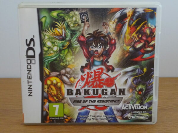 Bakugan Rise of the Resistance - DS