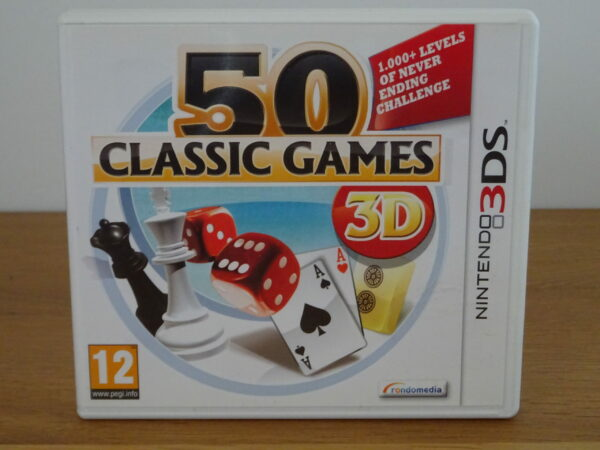 50 Classic Games - 3DS