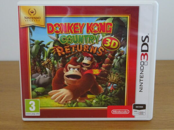 Donkey Kong Country Returns 3D - Nintendo Selects - 3DS