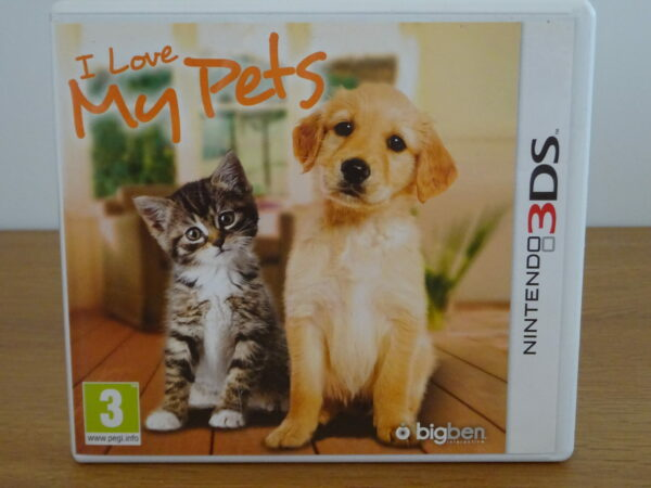 I Love My Pets - 3DS
