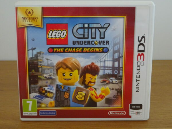 LEGO City Undercover - The Chase Begins Nintendo Selects - 3DS