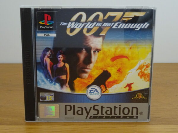 007 The World is not Enough - Platinum - PS1