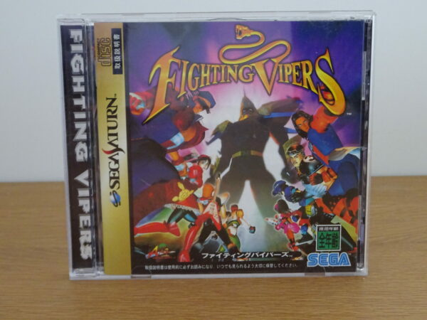 Fighting Vipers - SAT JAP