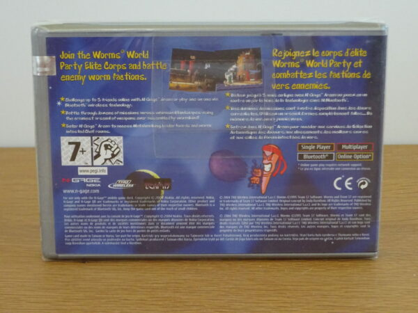 Worms World Party Sealed - N-Gage