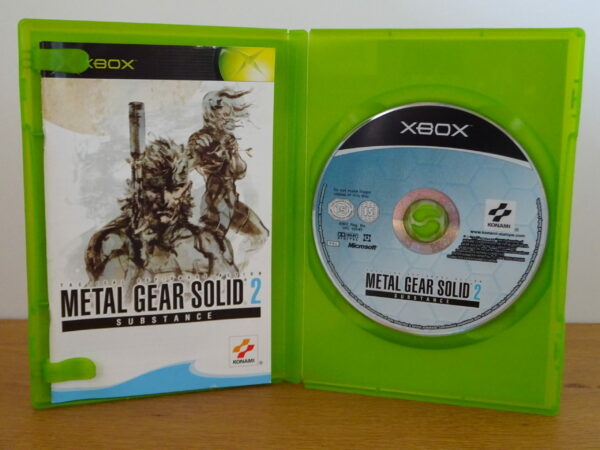 Metal Gear Solid 2: Substance - XB