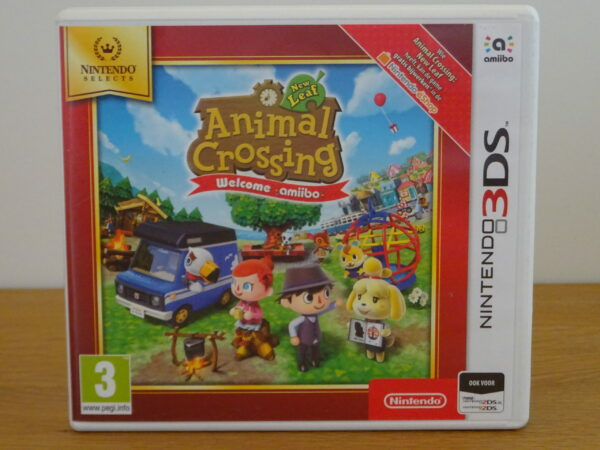 Animal Crossing New Leaf Welcome amiibo - Nintendo Selects - 3DS