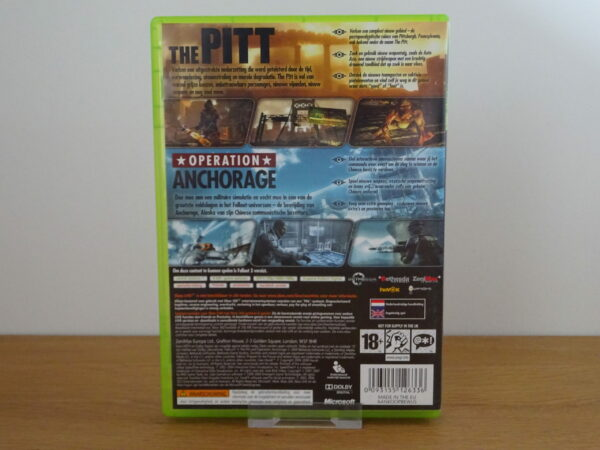 Fallout 3 Game Add on Pack - The Pitt and Operation: Anchorage - X360