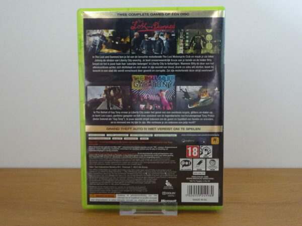Grand Theft Auto IV: Tales from Liberty City - X360