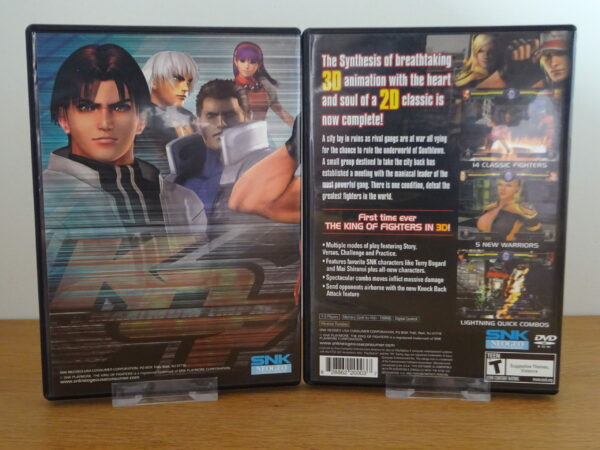 King of Fighters: Maximum Impact - PS2
