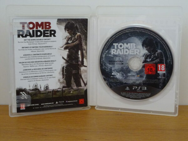 Tomb Raider - Benelux Limited Edition - PS3
