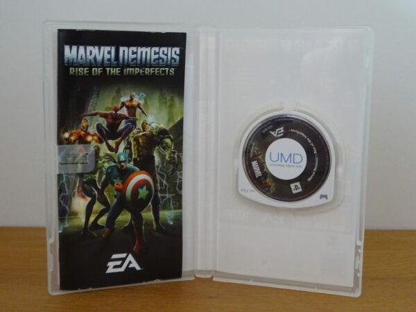 Marvel Nemesis Rise of the Imperfects - PSP