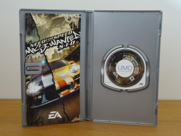 Need for Speed Most Wanted 5-1-0 Platinum - PSP