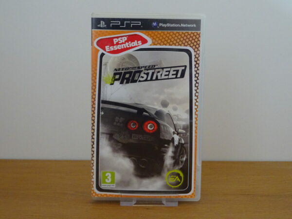 Need for Speed Pro Street - PSP Essentials - PSP