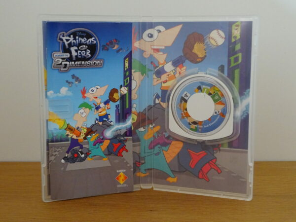 Phineas and Ferb Across the 2nd Dimension - PSP
