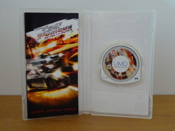 The Fast and the Furious - PSP
