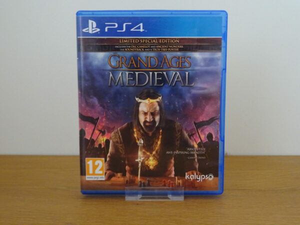 Grand Ages Medieval Limited Special Edition - PS4