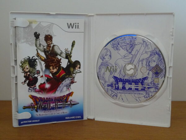 Dragon Quest Swords: The Masked Queen and the Tower of Mirrors - Wii