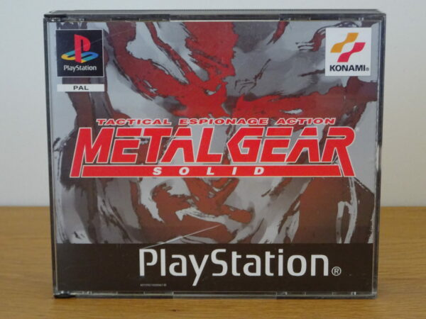 Metal Gear Solid + Silent Hill Demo - PS1