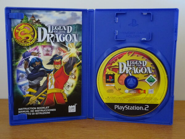 Legend of the Dragon - PS2