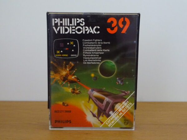 39 - Freedom Fighters - Videopac